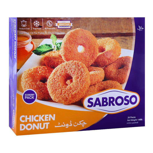 Picture of SABROSO CHICKEN DONUT STANDARD PACK