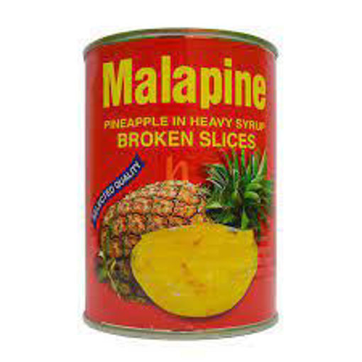 Picture of MALAPINE PINEAPPLE IN SYRUP BROKEN SLICES  565G