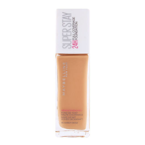 Picture of MAYBELLINE NEW YORK SUPERSTAY FULL COVERAGE 24H LIQUID FOUNDATION 49 AMBER BEIGE