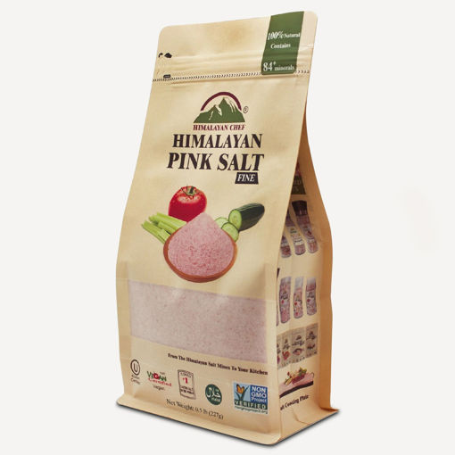 Picture of HIMALAYAN CHEF PINK SALT FINE POUCH 227G