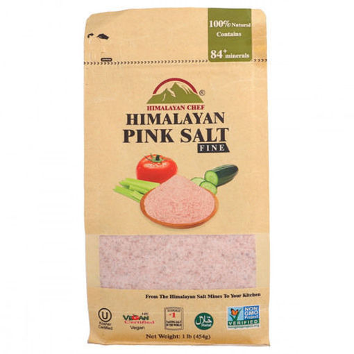 Picture of HIMALAYAN PINK SALT FINE POUCH 454G