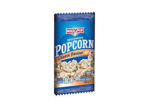 Picture of MAGIC POPS MICROWAVE POPCORN CHEESE 90G