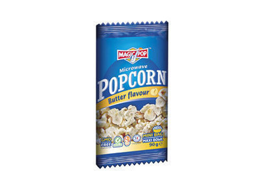 Picture of MAGIC POPS MICROWAVE POPCORN BUTTER 90G