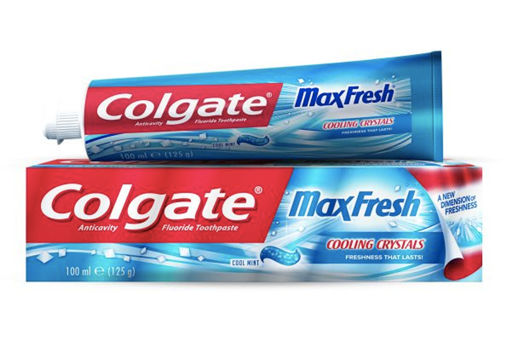 Picture of COLGATE MAXFRESH COOLONG CRYSTALS COOL MINT 100G