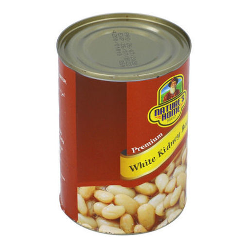 Picture of NATURES HOME WHITE KIDNEY BEANS 400G
