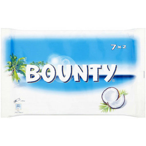 Picture of BOUNTY 7X2 BARS 399G