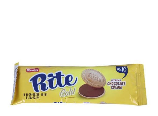 Picture of BISCONNI RITE GOLD CHOCOLATE CREAM SNACK PACK 1 PIECE