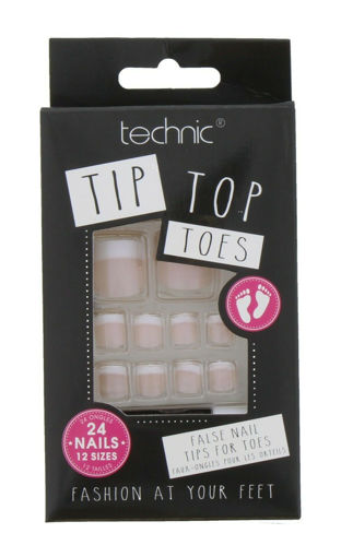 Picture of Technic Tip Top Toes False Nail - 24 Nails