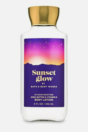 Picture of BATH & BODY WORKS SUNSET GLOW BODY LOTION 236ML