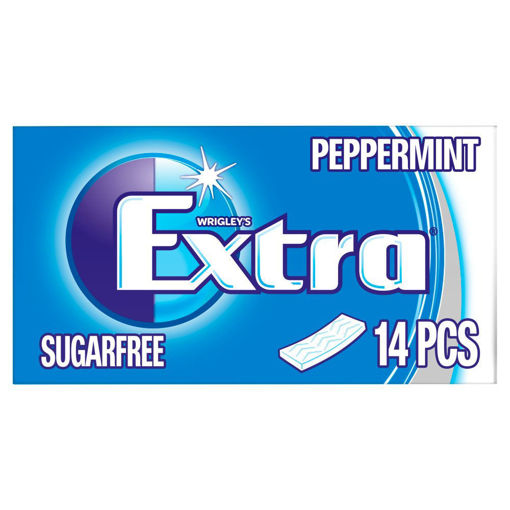 Picture of EXTRA PEPPERMINT GUM 14 PIECES