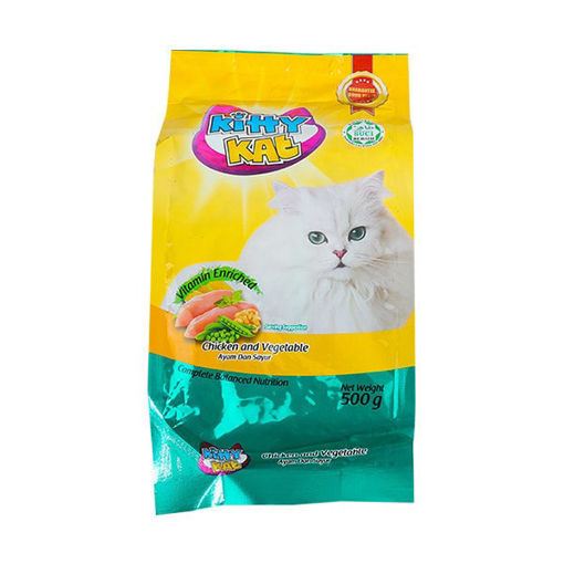Picture of KITTY KAT CHICKEN & VEGETABLE 500G