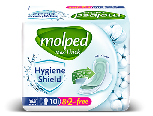 Picture of MOLPED MAXI THICK HYGIENE SHIELD EXTRA LONG