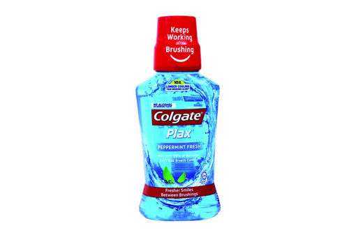 Picture of COLGATE PLAX MOUTH WASH PEPPERMINT FRESH 250ML
