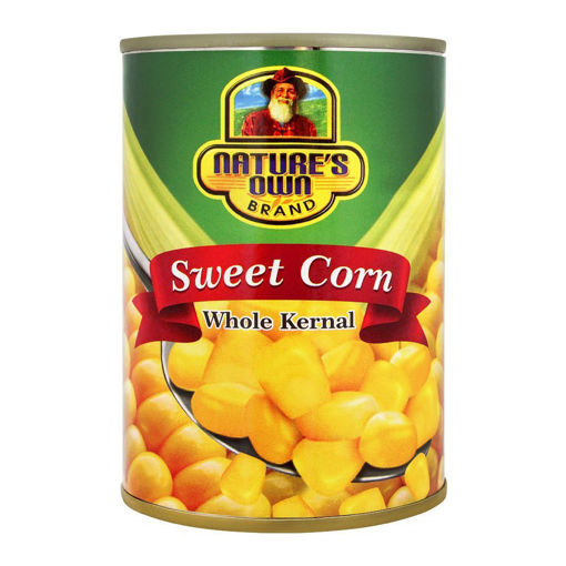Picture of NATURE'S HOME SWEET CORN, WHOLE KERNEL, 380G