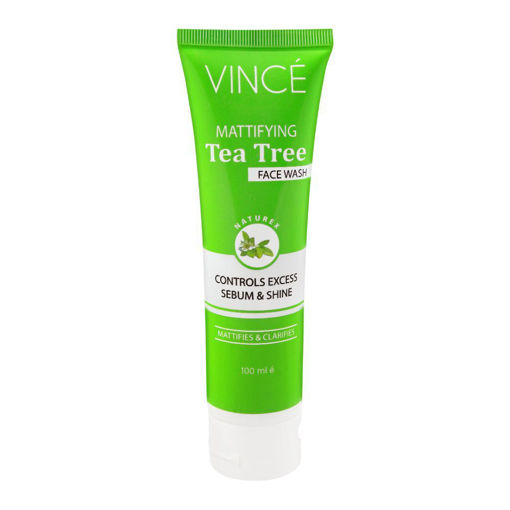 Picture of VINCE MATTIFYING TEA TREE FACE WASH 100ML