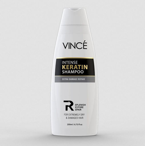 Picture of VINCE INTENSE KERATIN SHAMPOO EXTRA DAMAGE REPAIR 200 ML