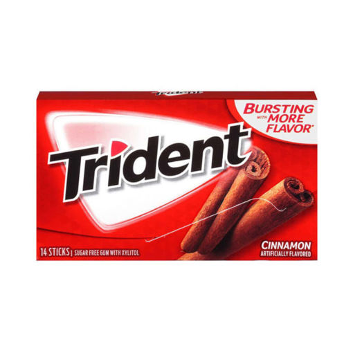 Picture of TRIDENT GUM CINNAMON FLAVORED 14S