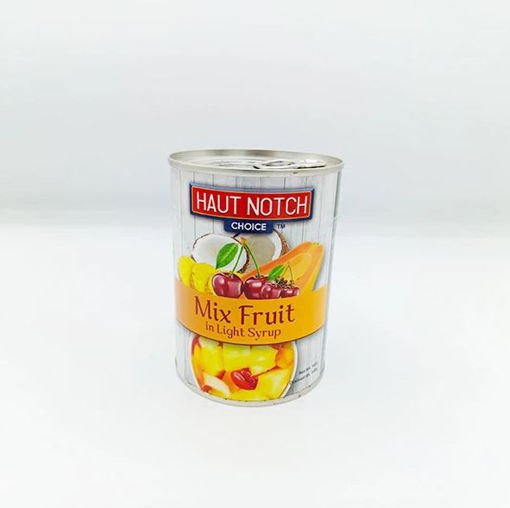 Picture of HAUT NOTCH MIX FRUIT IN LIGHT SYRUP 565G