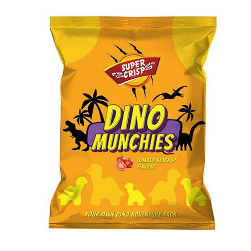 Picture of SUPER CRISP DINO MUNCHIES TOMATO KETCHUP 21G