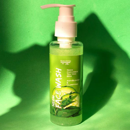 Picture of SPA IN A BOTTLE NEEM FACE WASH 100ML