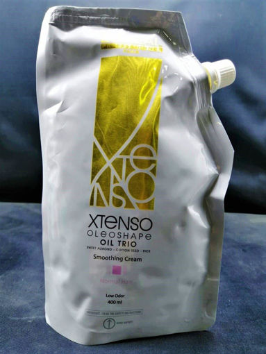 Picture of L'ORÉAL PROFESSIONNEL XTENSO OIL TRIO SMOOTHING CREAM FOR NORMAL HAIR ( PINK ) 400ML