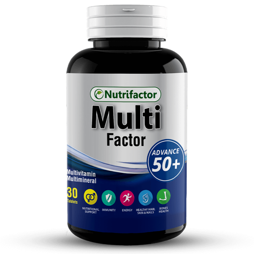 Picture of NUTRIFACTOR MULTI FACTOR 50+TAB
