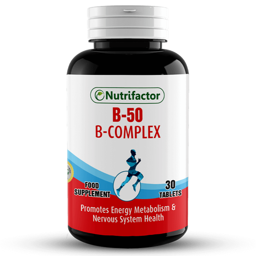 Picture of NUTRIFACTOR B 50B COMPLEX