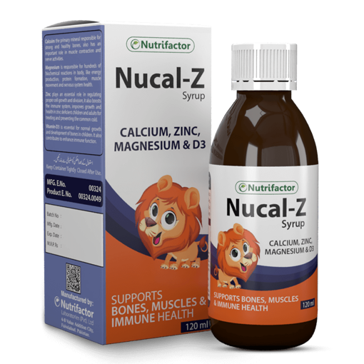 Picture of NUTRIFACTOR NUCAL Z SYP 120ML