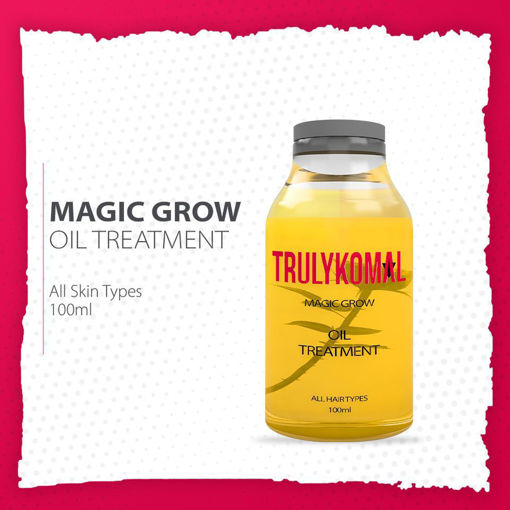 Picture of TRULYKOMAL MAGIC GROW OIL TREATMENT 100ML