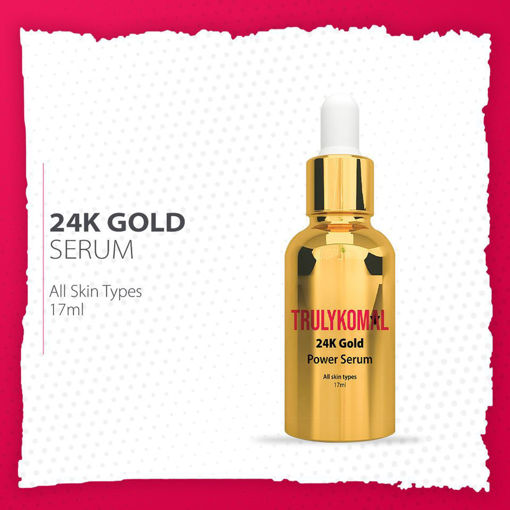 Picture of TRULYKOMAL 24K GOLD ALL IN ONE POWER SERUM 15ML