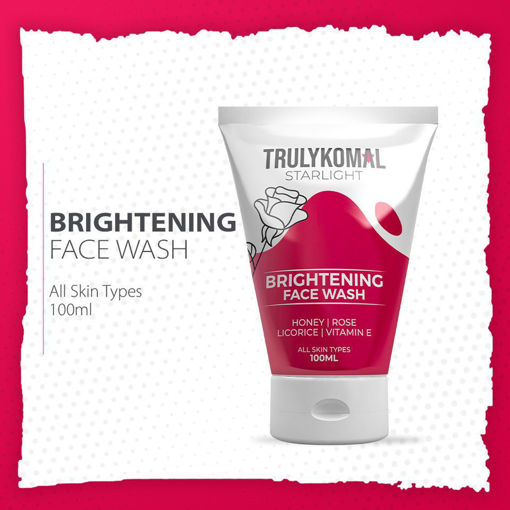 Picture of TRULYKOMAL STARLIGHT BRIGHTENING FACE WASH 100ML