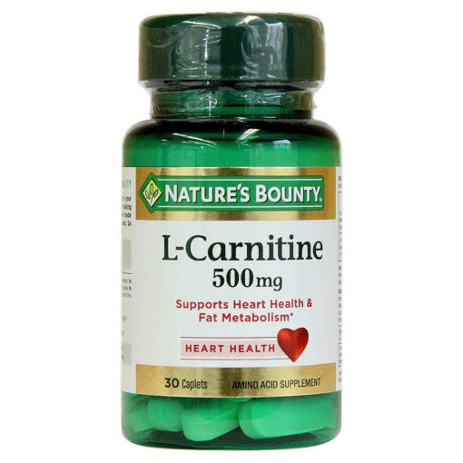 Picture of NB L CARNITINE 500MG TAB