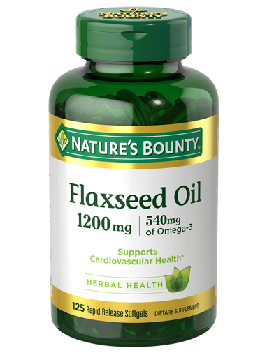 Picture of NB FLAXSEED OIL 1200MG CAP