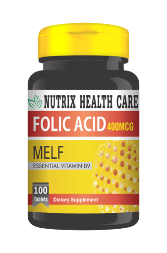 Picture of NH FOLIC ACID 400MG TABLETS