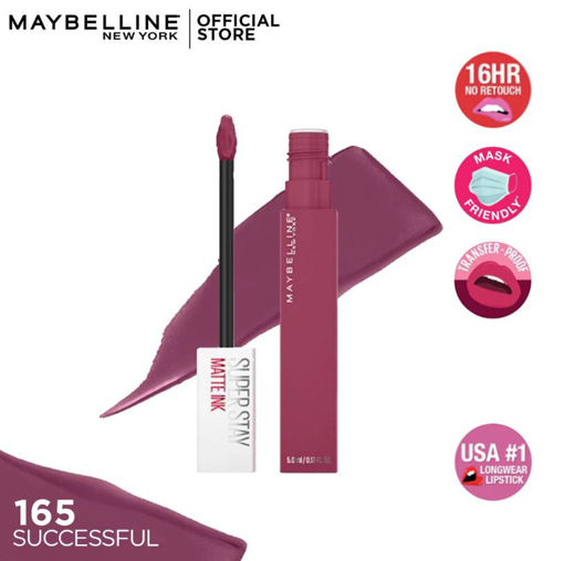 Picture of MAYBELLINE SUPER STAY MATTE INK 165 SUCCESSFUL