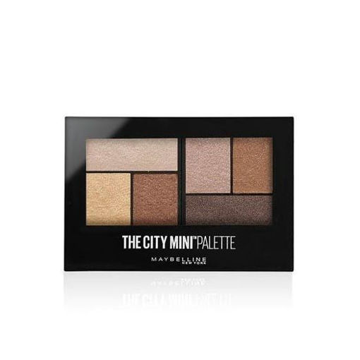 Picture of MAYBELLINE THE CITY MINI PALETTE ROOFTOP BRONZES