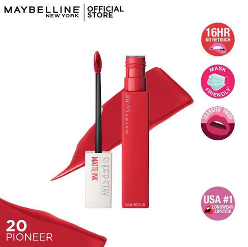 Picture of MAYBELLINE SUPER STAY MATTE INK 20PIONEER 50ML