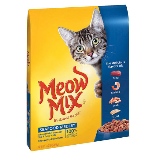 Picture of MEOW MIX SEA FOOD 7.26KG
