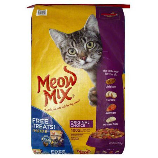 Picture of MEOW MIX ORIGINAL CHOICE 9.98 KG