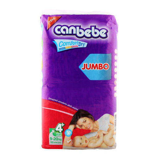 Picture of CANBEBE JUMBO MAXI PLUS NO. 4+, 9-20 KG 50-PACK