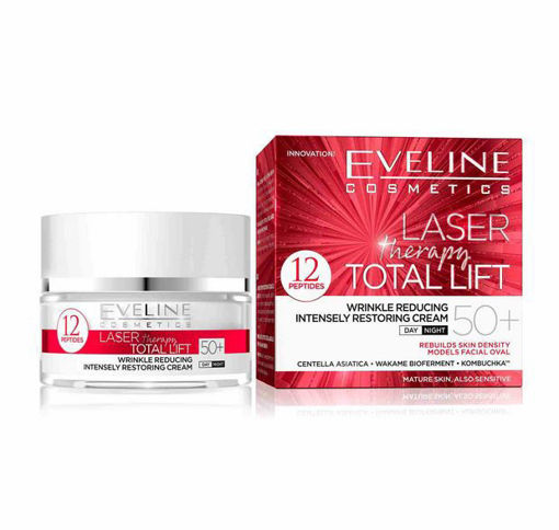 Picture of EVELINE LASER THERAPY TOTAL LIFT INTENSELY RESTORING FACE CREAM 50+