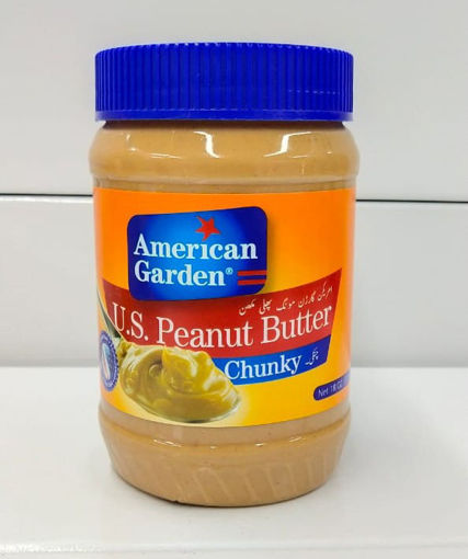 Picture of AMERICAN GARDEN PEANUT BUTTER CHUNKY 510G