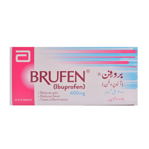 Picture of BRUFEN IBUPROFEN TABLETS 400MG