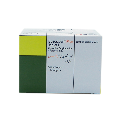 Picture of BUSCOPAN PLUS TABLET 500 MG