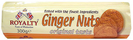 Picture of ROYALTY GINGER NUTS 300GM