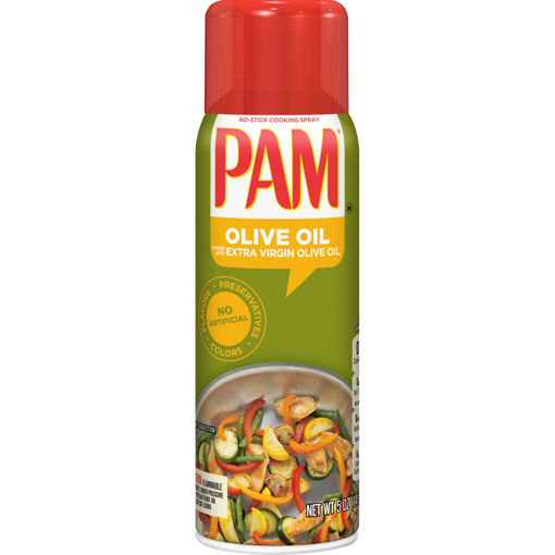 Picture of PAM OLIVE OIL EXTRA VIRGIN OLIVE OIL EXPELLER PRES
