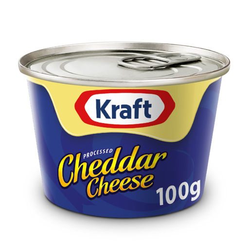 Picture of KRAFT CHEDDAR CHEESE 100G