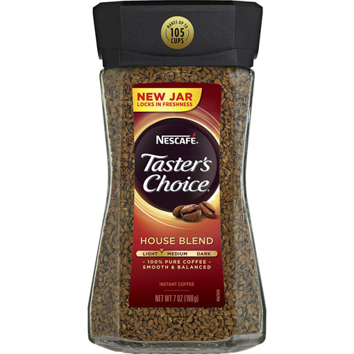 Picture of NESCAFE TASTERS CHOICE HOUSE BLEND INSTANT COFFEE