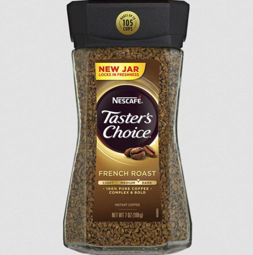 Picture of NESCAFE TASTERS CHOICE FRENCH ROAST INSTANT COFFEE