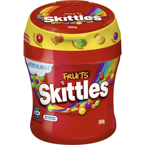 Picture of FRUITS SKITTLES 100G